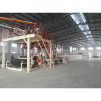 Best Automatic Tile Production Line / Bitumen Backed Carpet Tiles Water - Cooling Control wholesale