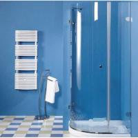 Cheap Curved Tempered Safety Glass 6mm 8mm as Shower Enclosure , toughened safety glass for sale
