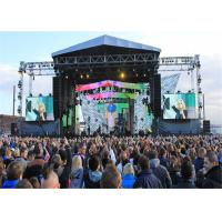 Buy cheap Hanging Bar LED Display Screen Rental P4 LED Panel Stage Background For Concert from wholesalers