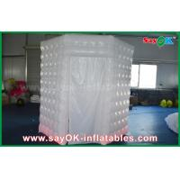 Quality PVC Coated Inflatable Octagon Mobile Photo Booth Tent With LED Lighting wholesale
