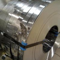 201 / 304 / 316L / 202 Stainless Steel Slit Coil Rolled ASTM A537 , ASTM A302 for sale