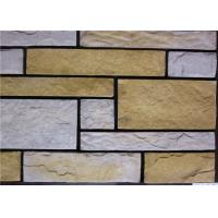 Best Rectangle Artificial Wall Stone With Strong Adhesion Color Solid Focus wholesale