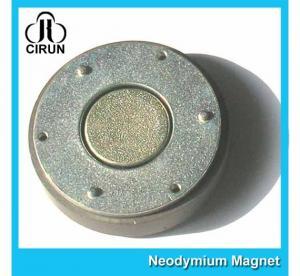 Best Small Thin Custom Neodymium Magnets , Strong Round Flat Ndfeb Magnet wholesale