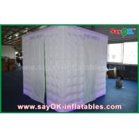 Quality Green Background Inflatable Photo Booth 2.5 x 2.5 x 2.5m For Wedding / Event wholesale