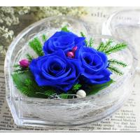 Cheap Transparent Acrylic Storage Box Flower Container Gift Luxury Packaging Heart for sale