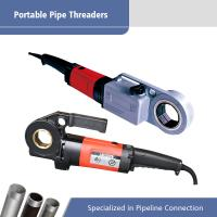 Best 51 RPM Hand Held Electric Pipe Threader Machine 1200 W - 1350W wholesale