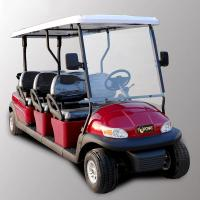 Best Park 6 Seater Golf Cart Electric Sightseeing Car With 3.7kw KDS Motor wholesale