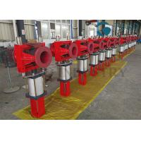 Buy cheap Wear Resistant Leak-Free Cast Iron Body Flanged End Slurry Pinch Valve With from wholesalers