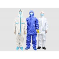 China Disposable medical isolation clothing anti-virus clothing disposable one-piece protective clothing for sale