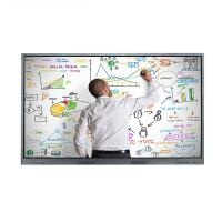 Best 4K Wall Mount IR Multi Touch Screen LCD Monitor 32 to 98 Inch Resolution 3840 * 2160 wholesale