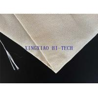 Quality SGS Certificated Thermal Insulation Fireproof Fiberglass Fabric Steel Wire Reinforced wholesale