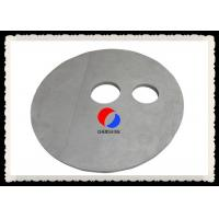 Round Shape Rigid Carbon Fiber Board Felt Customized Thickness PAN Based