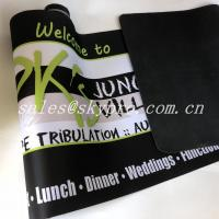 Buy cheap Blank Printable Neoprene Fabric Roll Anti Fatigue With Printing Logo from wholesalers