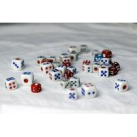 Buy cheap Plastic Voice Casino Games Dice Cheating Device With Cell Phone For Cheating from wholesalers