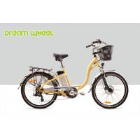 China 36V 250W Electric City Bike 26 Inch Wheel Urban Commuter Bicycle Aluminum Frame on sale