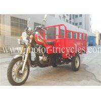 Quality OEM Adult Eec Truck Tricycle Air Cooled , Tricycle 3 Wheel Motorcycle wholesale
