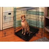 Stainless Steel Metal Large Small Foldable Carriers Cheap Dog Pet Cages for sale