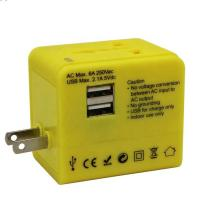 Best Portable Electrical Ac Dc Universal Travel Adapter Laptop Phone Wall Power Charger wholesale