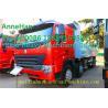 Best A7 Heavy Duty Dump Truck 8x4 380hp EUROIII Front lift HYVA 169 Cylinder wholesale