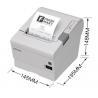 Best Epson USB Thermal Receipt Printer 50-60Hz With 203dpi * 203dpi Density wholesale