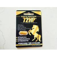 Quality 72HP Gold Edition Herbal Sex Pills Strong For Man Sexual Medicine 3 years Guarantee period wholesale