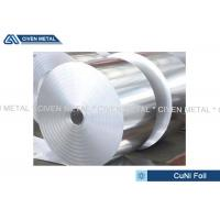 Best Thermal Stability CuNi44 Copper Nickel Alloy Foils FOR marine equipment wholesale