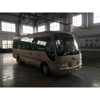 Quality Front Cummins Engine ISUZU 7M Toyota Coaster Van Euro 3 24 - 27 Seats Capacity wholesale