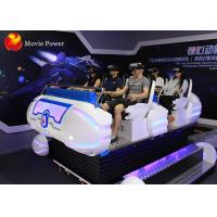 Quality Virtual Reality Cinema Simulator 9D Motion Ride 6 Seater Earn More Money wholesale