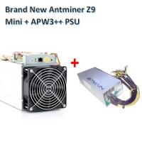 Best Bitcoin Mining Device Antminer Z9 mini 10kh/s ZCash miner with Power supply Asic Miner wholesale
