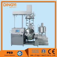 Best Stainless Steel Vacuum Emulsifying Mixer , Cosmetic Cream Mixers With PLC Control wholesale
