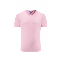 Best Pink Color 160gsm All Cotton Tee Shirts For Women wholesale