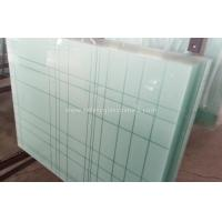 Quality 6.38mm - 40.3mm CE and ISO9001 Curtain Wall Tempered Laminated Glass For Home wholesale