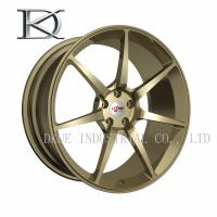 Best Gloss Black Aluminum Forged Wheels , Machined Aluminum Wheels For Car wholesale