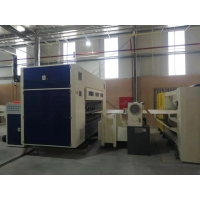 China Fully Automatic Corrugated cardboard production line-Slitter scorer for sale