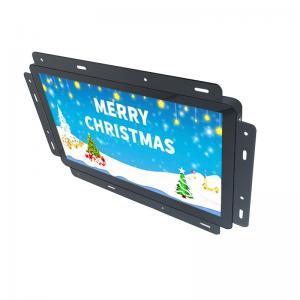 Best Multimedia Open Frame LCD Display Metal Housing Black Built - In Media Player wholesale