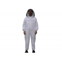 Cotton And Terylene Beekeeping Protective Suit With Fencil Veil