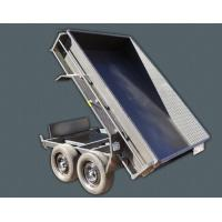Quality Steel 10 X 5 Tipper Trailer , Hydraulic Dump Trailer With Light Protectors wholesale