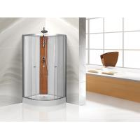 Quality Custom Quadrant Sliding Door Shower Cubicles , Curved Shower Glass Enclosure wholesale