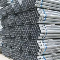Best Hot Rolled Galvanized Round Pipe 6mm - 76mm Tube Diameter High Strength wholesale