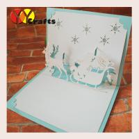Best DIY 3D Pop Up Card  Elegant Cinderella Carriage princess , 3D Pop Up Christmas Cards wholesale