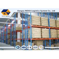 Best High Capacity Storage Pallet Warehouse Racking Metal Display With Frame Barrier wholesale