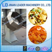 Quality Automatic double-drum single-drum snack puff feed flavoring line wholesale