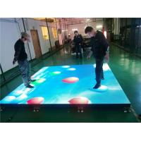 Best Full Color Dance Floor LED Screen Interactive Led Display Customized Size wholesale