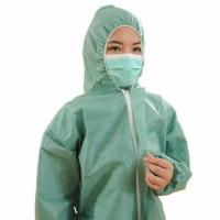 Buy cheap ISO Standard Non Woven Surgical Gown One Piece Work Uniform With Long Sleeve from wholesalers