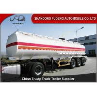 Best Professional 45000 Liters Fuel Tanker Semi Trailer With 5 Compartments  wholesale