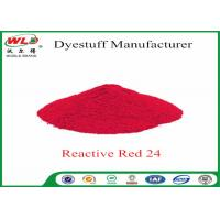 Buy cheap ISO9001 Clothes Color Dye Natural Clothing Dye C I Red 24 Reactive Red P-2B from wholesalers