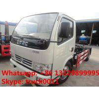 Quality DONGFENG 6cbm hook arm garbage truck 4X2 6cbm rubbish collector truck for sale, HOT SALE! best dongfeng garbage truck wholesale