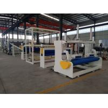 Buy cheap Waterproof HDPE Geomemrbane Extrusion Line 2200mm Width 600kg/h Capacity from wholesalers
