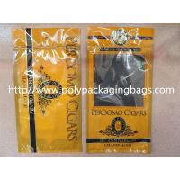 Best Plastic Cigarettes Cigar Humidor Bags With Hanger Hole Personalized Style wholesale