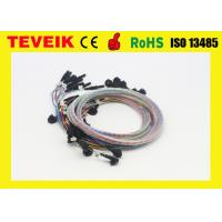 Best DIN1.5 Socket EEG Cable Cup Electrode Medical Custom Length One Year Warranty wholesale
